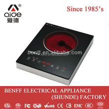 2000W heating resistance multi touch table electric radiator ceramic cookware