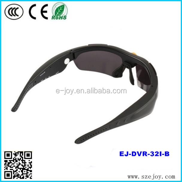 2015 New EJ-DVR-32I-C promotion gift mobile eyewear recorder, camera sunglasses