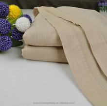linen cotton simple fashion super soft solid blanket