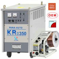 KRII 350 mig Panasonic welding machine rust removal wire wheels