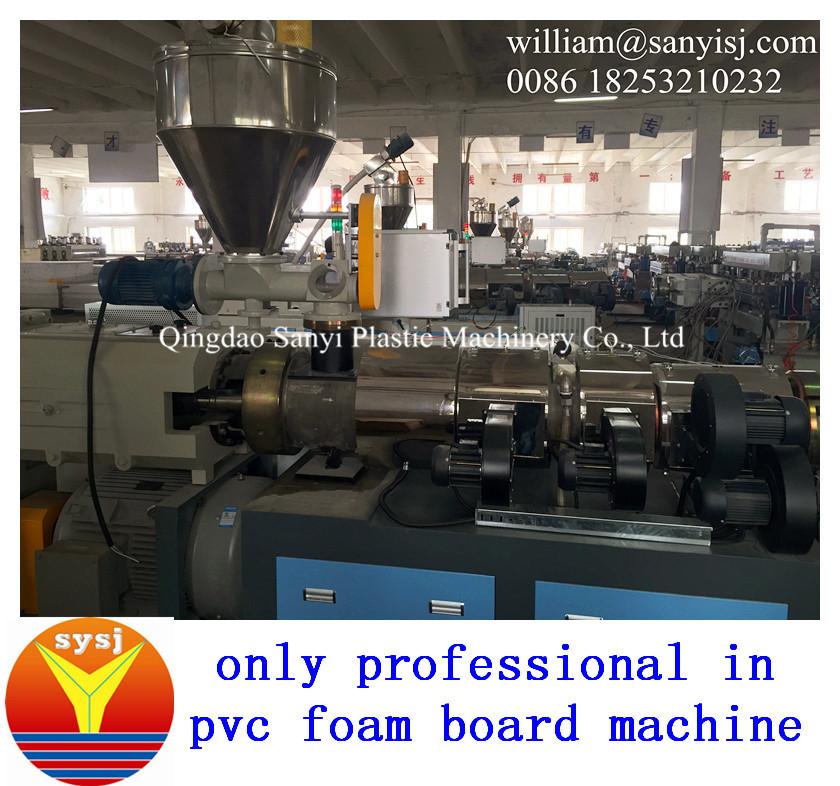 wpc foam board machine