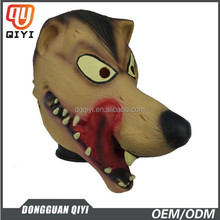 Animal mask wolf dog latex mask celebrity latex mask for Halloween party