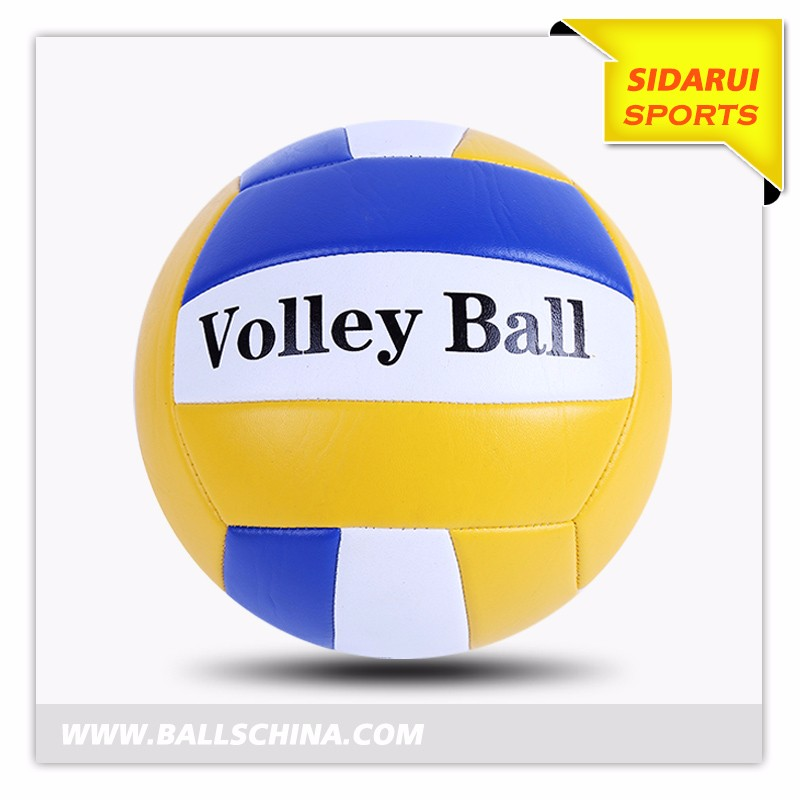 China professional Manufacturer Custom logo and color rubber volleyballS-3332