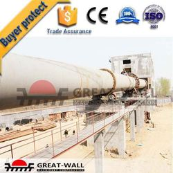 Low consumption rotary kiln lime