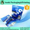 Custom print resealable aluminum foil whey protein powder bag