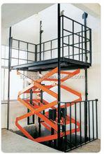 hydraulic wall mounted lift platform --- stationary scissor lift / hydraulic lift platform SJG series 2015