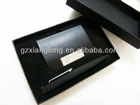 GFT003 Promotional metal ball pen and business name card holder gift box Luxury design Hot sale promotional gift set