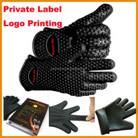 oven mitt silicone high temperature resistant silicone oven mitts