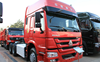 Sinotruck HOWO 6x4 CNG Tractor Truck 340hp