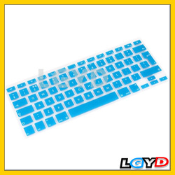 Soft Silicon Soft European-style English Keyboard Protector Cover Skin for MacBook