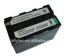 6000mAh Battery NP-F960 for Sony CCD-TRV3000 CCD-TRV99 Q002-HDR1 EVO-250 (Video Recorder) CCD-TR413 CCD-TR913E