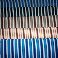 stripe printing cotton flannel fabric for pajamas