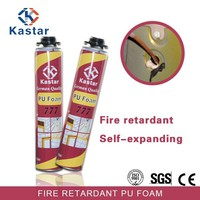 Trade Assurance self-expanding fire retardant pu foam for brick substrate