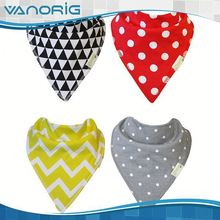 Latest Wholesale Soft Cotton baby bibs funny for summer