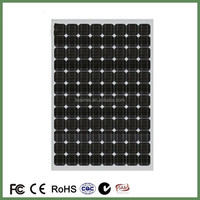 250w pvc wall roof panel lighting mono solar panel with low price high quality