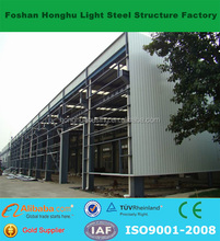Low cost color steel prefab mobile warehouse/workshop