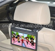 Lcd 9 inch touch screen headrest car dvd MP3 MP4 player for all cars