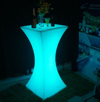 color changingled bar table/ nightclub/ illuminated led furniture