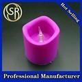 Inalámbrico recargable eléctrico de Control remoto LED luz del té velas