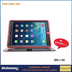 Popular for ipad air leather case factory oem