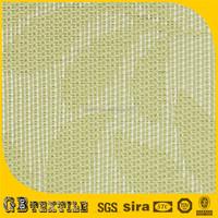 custom size vinyl coated woven polyester mesh fabric