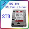 2TB For NAS Hard Disk 3.5-Inch SATA 6Gb/s Hard Drive 64MB Cache HDD