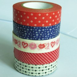 DIY lovely washi customized children tape for children playing