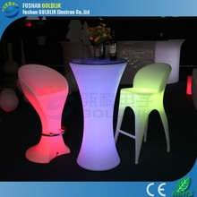 Sales Promotion: Modern design LED bar chair/bar stool high chair