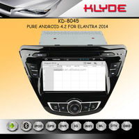 Android 4.2.2 WIFI DISPLAY/DVR/OBD Support elantra car audio