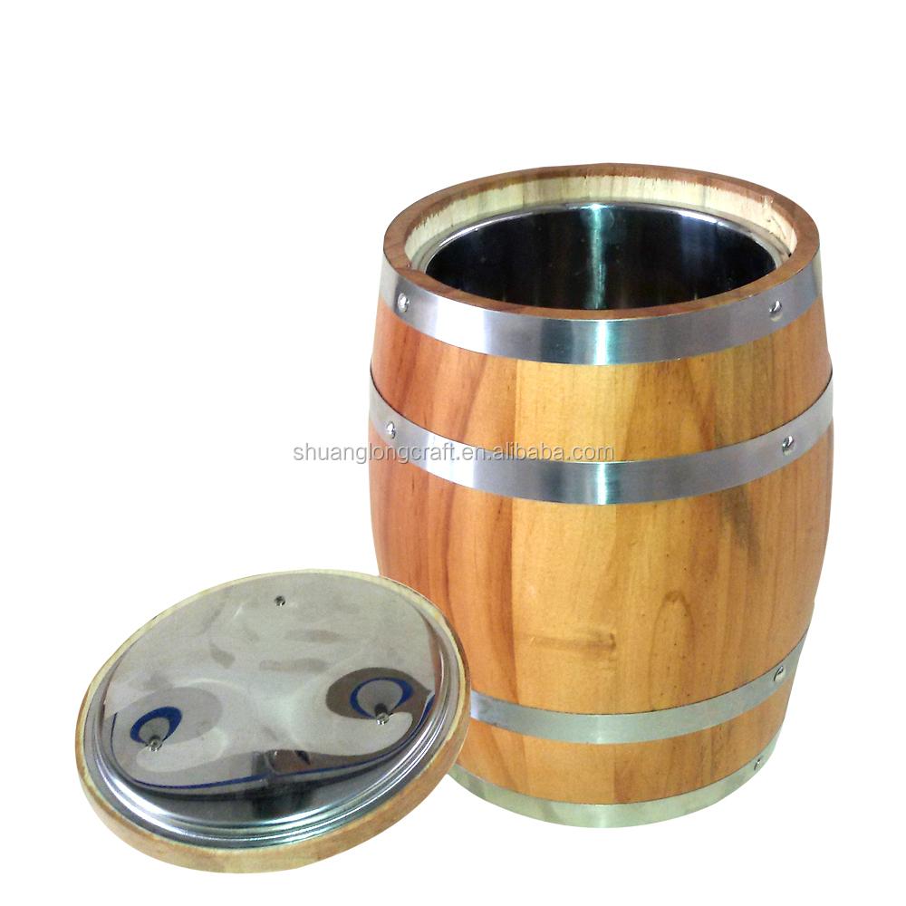 2015 chine pine bois tonneau de vin mini bois tonneau de - Tonneau en bois ...