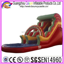 Giant Inflatable Red Water Slides