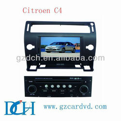 car dvd system for Citroen C4 WS-9428