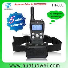 300 meters shock vibration remote training dog collar