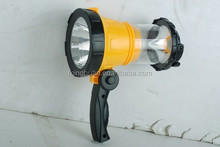Rechargeable LED portable dual funcrion camping lantern & spotlight