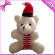 soft stuffed christmas bear doll toy plush toys christmas