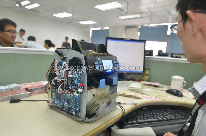 2015 Perfect Denomination Value Banknote Counter machine
