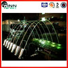 garden decoration wedding decoration colorful water jet laminar water jet