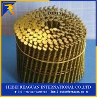 15-16 degree 45-56mm wire welded coil common nails