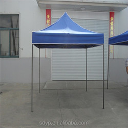 Enclosed wrought iron fabric gazebos canopie for sale 2*2m 2015