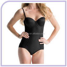 Sexy Girls Mature Bamboo Slimming Body Shaper Thigh Slimmer Firm Control Thong Corset Shapewear Breast Lifter