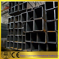 china supplier SS400 constrution building steel square steel tubes price