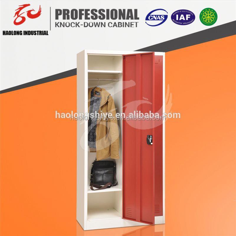 design two door hot sales kd boys locker room bedroom furniture