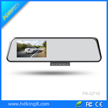 4.3'' 1080P fhd rearview mirror car dvr black box dual camera