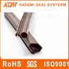 wood door waterproof dustproof shockproof bumper strip thong strip slot