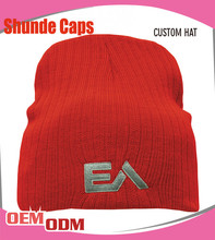 Wholesale Custom Embroidered Beanie/Spider Man Slouch Beanie Hat Caps