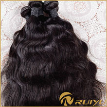 12-30 inch hot selling natural wave crochet hair extension clip, remy brazilian hair extension