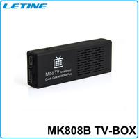 Best sale MK808B Plus Amlogic M805 Quad Core Android 4.4 Mini PC Smart Google TV Stick Dongle 1GB 8GB cheap smart Android TV BOX