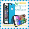 For iPhone 6 hybrid case, kickstand hybrid case for iPhone 6