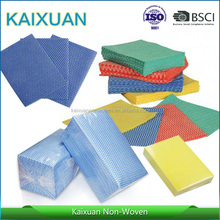 polyester/viscose spunlace cleaning cloth, nonwoven wipe cleaning paper, spunlace cleaning wipes