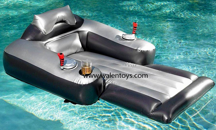 Inflatable electric pool chairs inflatable motor chair for Piscina inflable decathlon